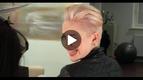 Germanys Next Topmodel Umstyling 2014 - Pixie cut like Miley Cyrus - kurze Haare sind cool